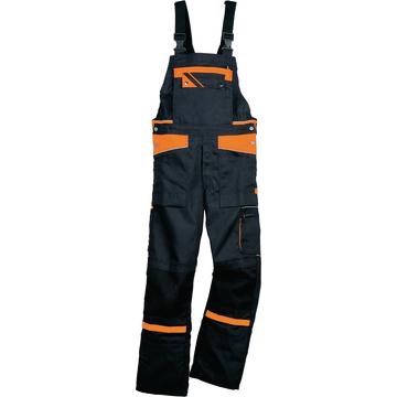 Arbeitskleidung Orange-Top, Latzhose Orange-Top, Latzhosen